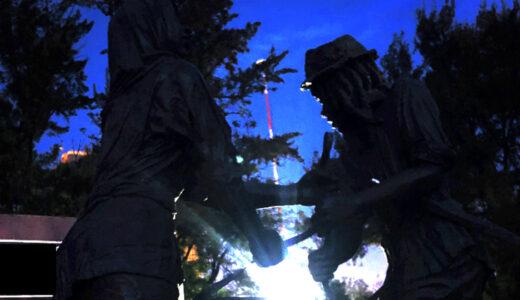 Mau Mau Memorial Passing Light Mahogany Version